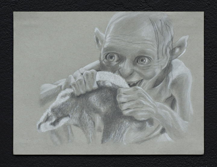 """Puppies Puppies Gollum"""